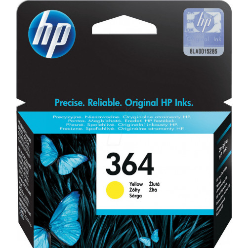 HP INK NO 364 YELLOW CB320EE