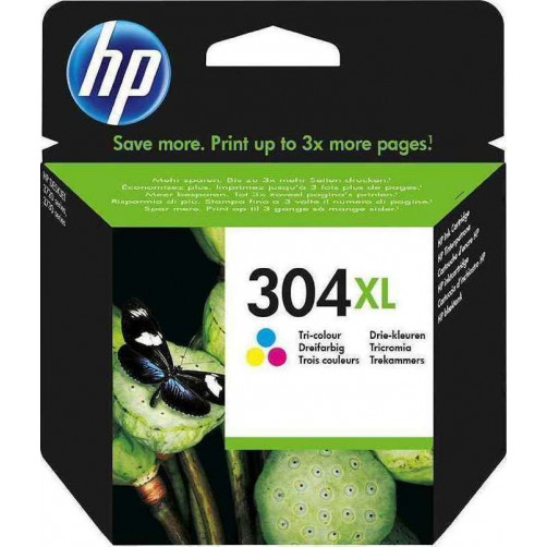 HP 304xl Tri-Color Ink