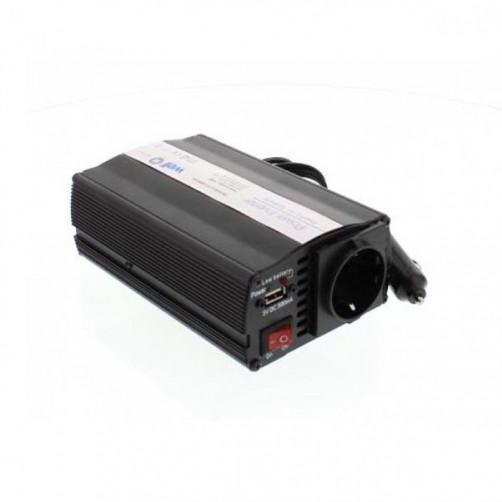 WELL Inverter 150W 12V DC σε 220V AC με θύρα USB