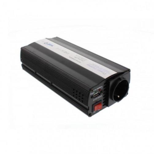 WELL Inverter 600W 12V DC σε 220V AC με θύρα USB