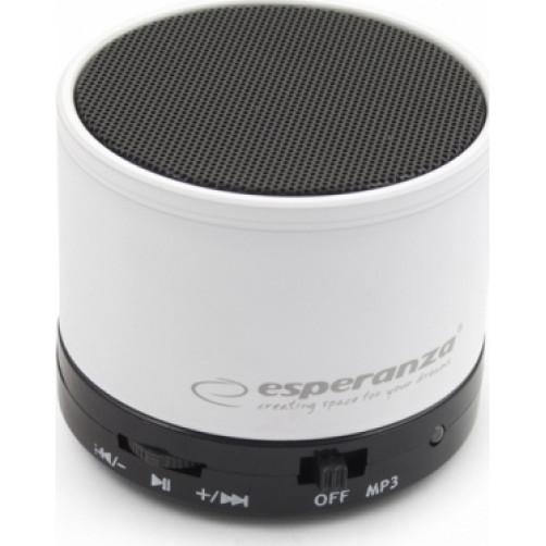 ESPERANZA RITMO White 3W EP115W Bluetooth Ηχείο
