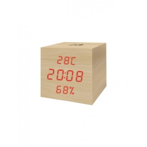 TELCO ET515B 03.009 Ψήφ.Ρολόι με ένδειξη υγρασίας και θερμοκρασίας