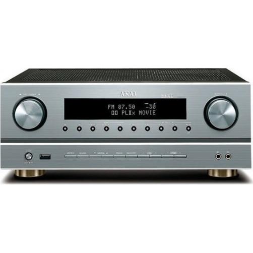 AKAI AS005RA-750BT Ραδιοενισχυτής με Bluetooth, USB και λειτουργία καραόκε
