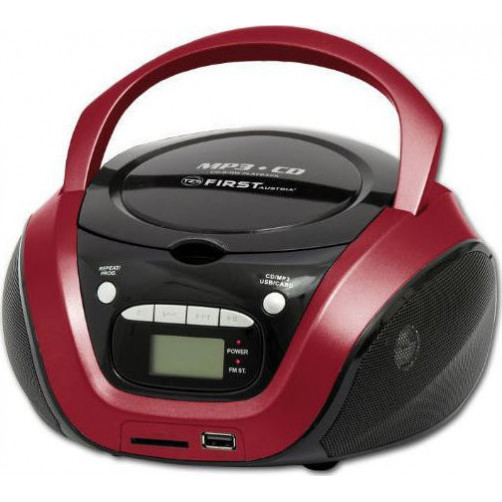 FIRST AUSTRIA FA-1154-2-RE AM/FM/CD/MP3/USB  ΦΟΡΗΤΑ ΡΑΔΙΟ-CD