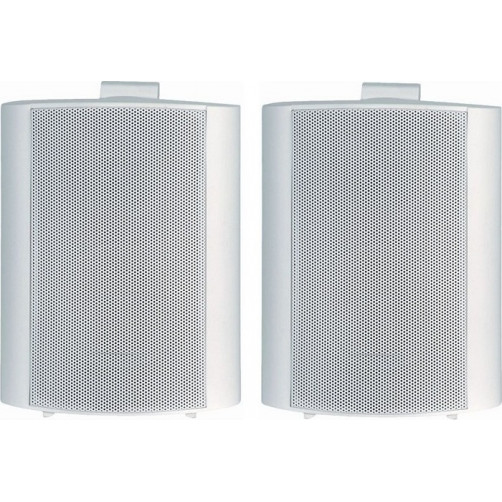 Ζεύγος επαγγελματικών ηχείωνTELE SPS-800W Άσπρο 8
