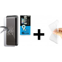 FRIENDS Huawei P30 Θήκη σιλικόνης + Tempered Glass
