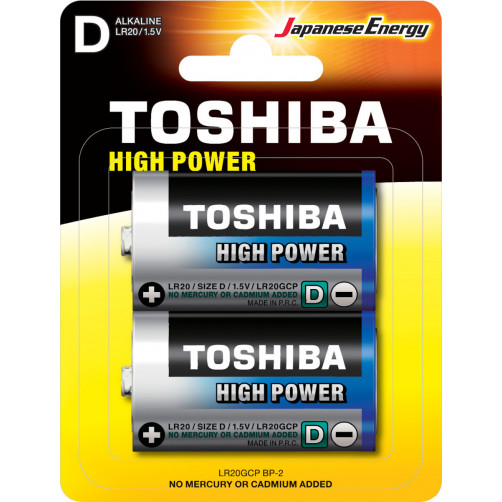 TOSHIBA LR20GCP BP-2 D Μπαταρίες