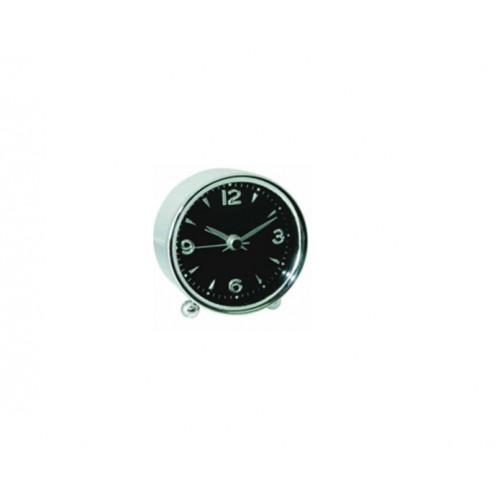ALFAONE AM03 Ρολόι-Ξυπνητήρι Black-Inox