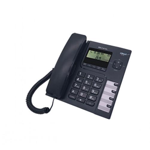 ALPHATEL 1308 Ενσύρματο τηλέφωνο Black