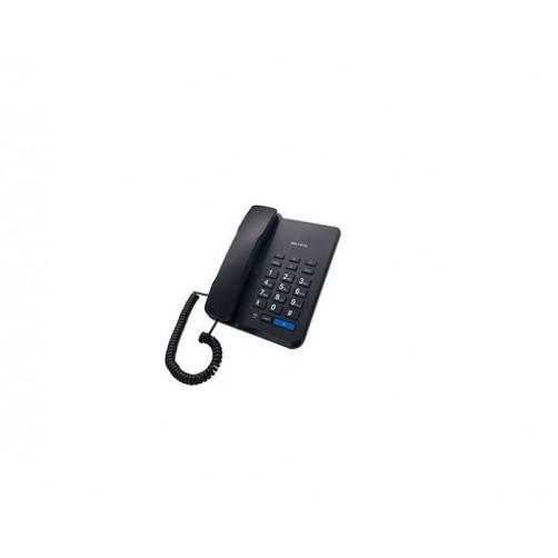 ALFATEL 1310 Ενσύρματο Τηλέφωνο Black