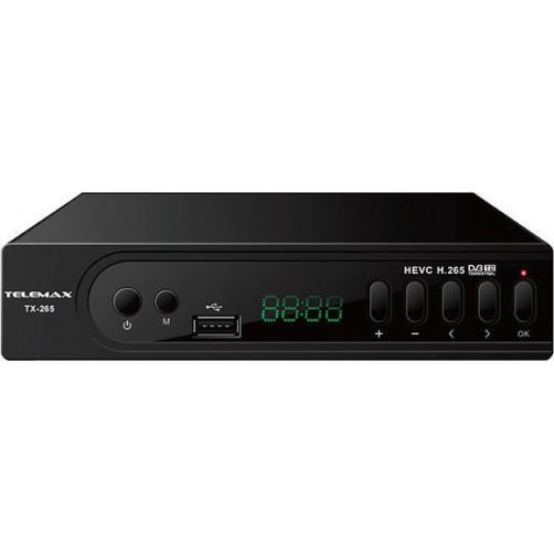 TELEMAX DVB T2-535 H.265 Αποκωδικοποιητές Mpeg4