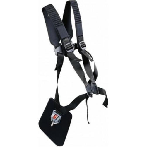 OLEO-MAC Ιμάντας θαμνοκοπτικού διπλός με γάντζο και προστασία μηρού 61200106Ρ (013228)