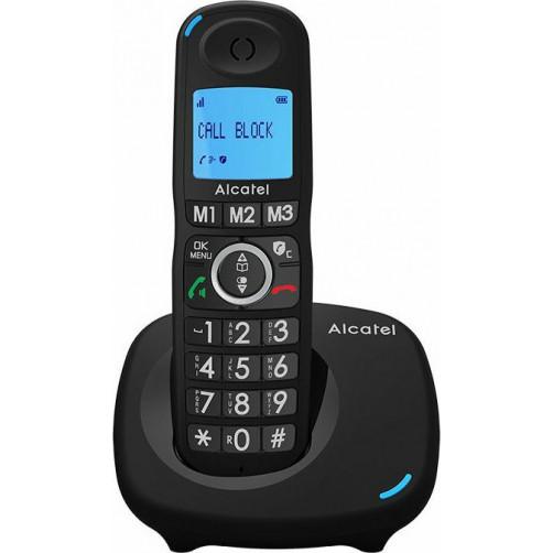 Ασύρματο τηλέφωνο ALCATEL XL535 με μεγάλα Πλήκτρα και CallBlock