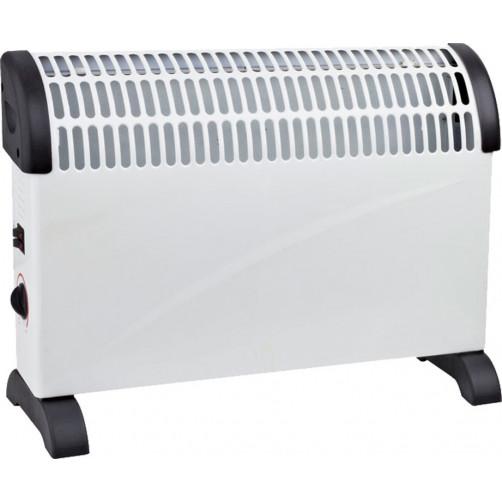 BORMANN BEH2000 (023074) Θερμαντικό CONVECTOR Δαπέδου 2000W με Θερμοστάτη Λευκό