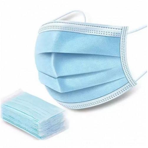 Μάσκες προστασίας μιας χρήσης 3PLY (Πακέτο 50τεμ.) Lamda