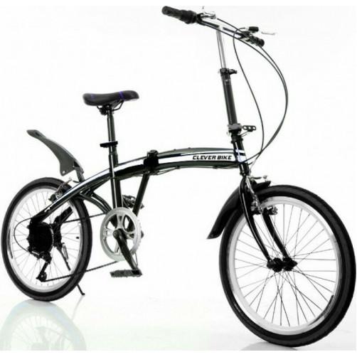 Σπαστό ποδήλατο CLEVER BIKE V2 Μαύρο 090017