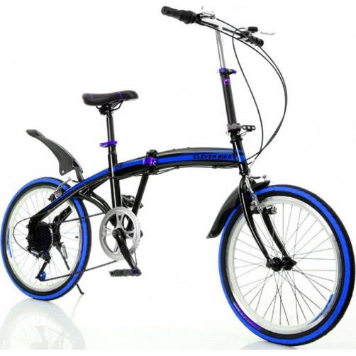 Σπαστό ποδήλατο CLEVER BIKE V2 Μπλε 090017