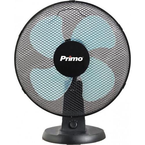 PRIMO PRTF-80405 Επιτραπέζιος Ανεμιστήρας Μαύρος