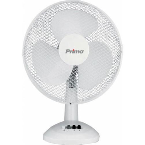 PRIMO PRTF-80407 Επιτραπέζιος Ανεμιστήρας 30εκ. White